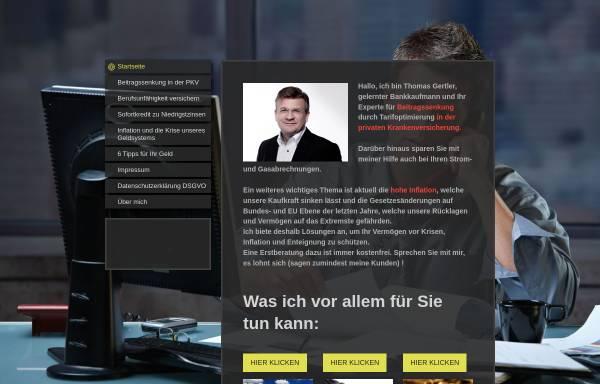 Vorschau von www.ihrfinanzdoktor.com, Thomas Gertler