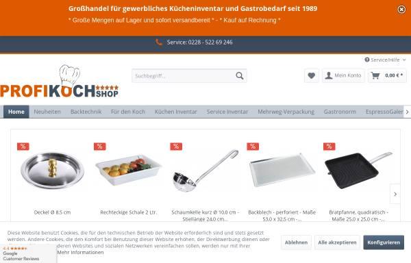Vorschau von rondell-kochshop.de, Rondell Verlags UG