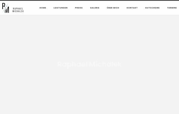 Vorschau von www.michalek-fotografie.de, Raphael Michalek