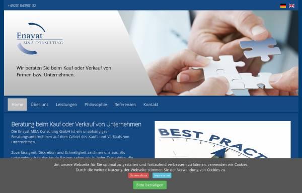 Vorschau: Enayat M&A Consulting GmbH