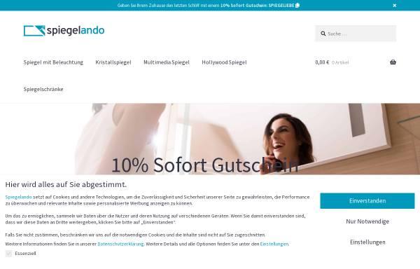 Vorschau von www.spiegelando.de, Spiegelando