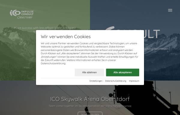 Vorschau von ico-oberstdorf.com, ICO Oberstdorf GmbH