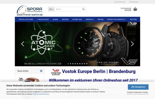 Vorschau von www.trend-watch.de, trend-watch - Andreas Spora