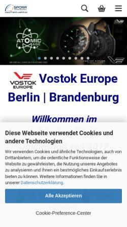 Vorschau der mobilen Webseite www.trend-watch.de, trend-watch - Andreas Spora