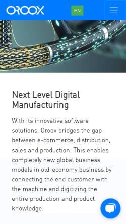 Vorschau der mobilen Webseite www.webcad.com, WebCAD