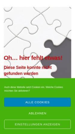Vorschau der mobilen Webseite rise-personalberatung.com, rise Personalberatung