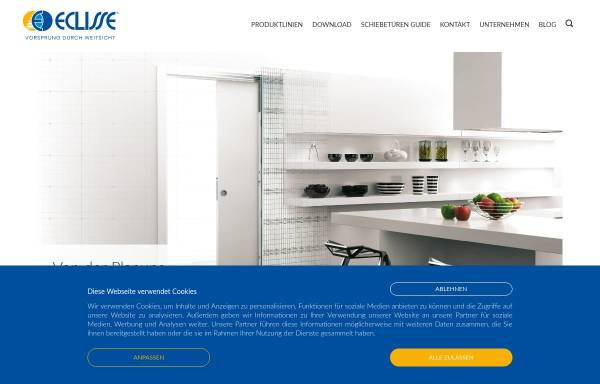 Vorschau von www.eclisse.at, Eclisse GmbH