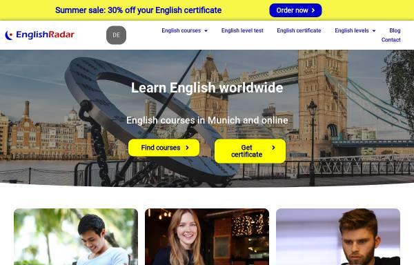 Vorschau von www.englishradar.com, EnglishRadar - School of English