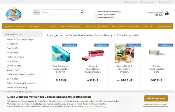 Vorschau von www.seifenprinz.at, Seifenprinz