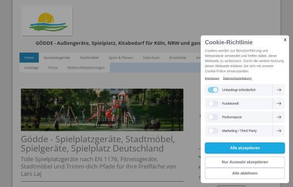 Vorschau von www.spielplatzgeraete-goedde.eu, Rüdiger Gödde