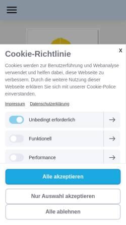 Vorschau der mobilen Webseite www.goedde-online.eu, Rüdiger Gödde