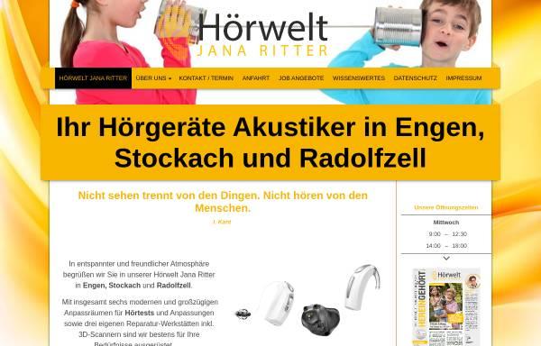Vorschau von www.hoerwelt-jana-ritter.de, Hörwelt Jana Ritter