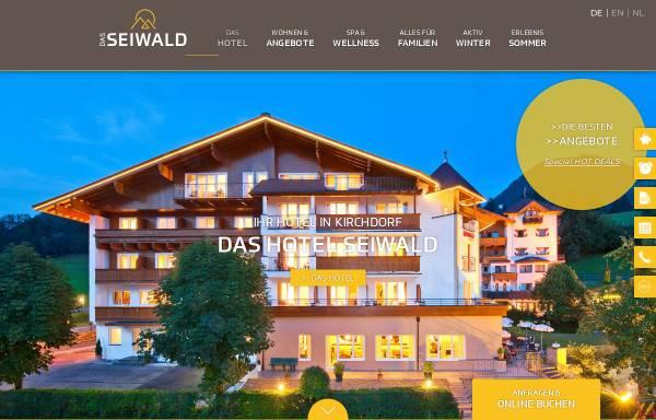 Vorschau von www.hotel-seiwald.com, Hotel Seiwald