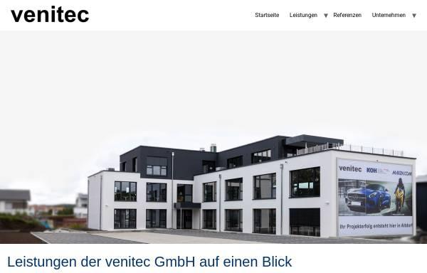 Vorschau von www.venitec.de, venitec GmbH