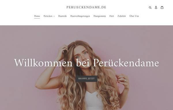 Vorschau von www.perueckendame.de, Perückendame