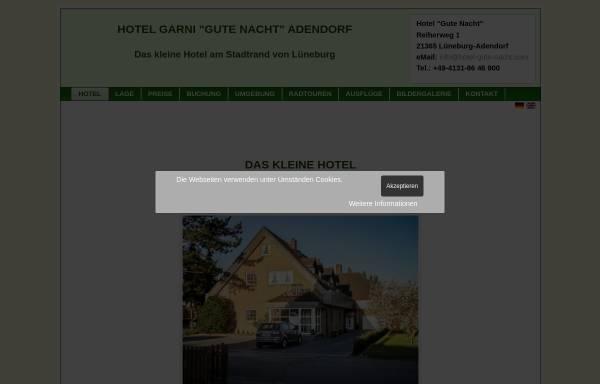 Vorschau von www.hotel-gute-nacht.com, Hotel Gute Nacht