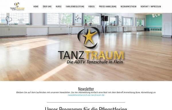 Vorschau von tanzschule-tanztraum.de, Tanzschule Tanztraum