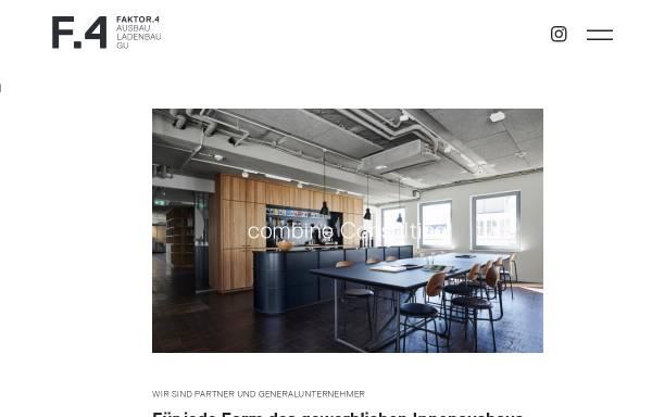Vorschau: FAKTOR4 Ausbau GmbH & Co. KG