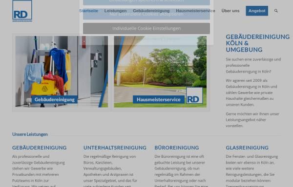 Vorschau von gebaeudereinigung-koeln.net, RD Gebäudereinigung