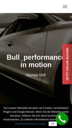 Vorschau der mobilen Webseite stumpp-gbr.de, Stumpp GbR