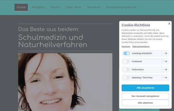 Vorschau von www.die-ganzheitliche.de, Naturheilpraxis - Die Ganzheitliche