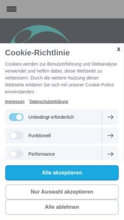 Vorschau der mobilen Webseite www.die-ganzheitliche.de, Naturheilpraxis - Die Ganzheitliche