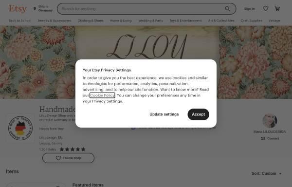 Vorschau von www.etsy.com, Lilou Design