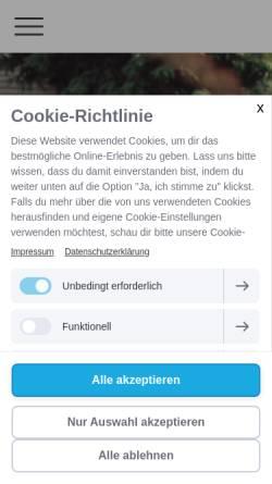 Vorschau der mobilen Webseite www.verbindungsworte.de, Verbindungsworte - Freie Rednerin Katharina Grys