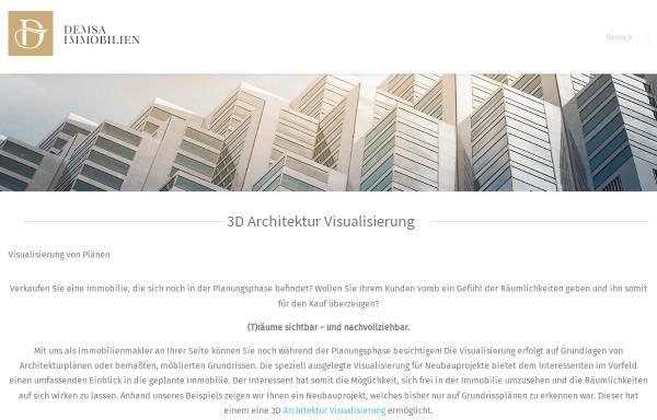 Vorschau von www.demsa-immobilien.de, Demsa Immobilien GmbH - Frankfurt am Main