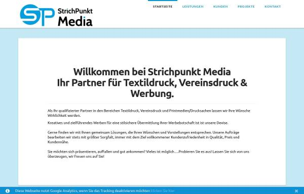 Vorschau von www.strichpunkt-media.de, Strichpunkt Media - Inh. Christian Willsch