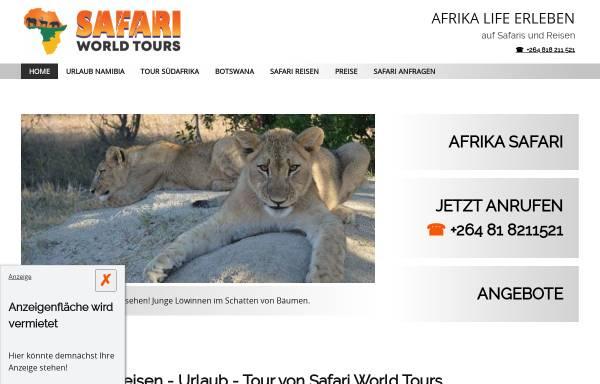 Vorschau von www.afrika-safari-reisen.de, Enrico's Tours & Safaris