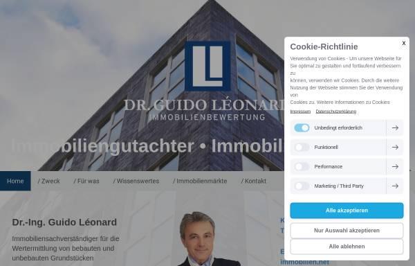 Vorschau von www.gutachter-immobilien.net, Immobiliengutachter Dr. Leonard