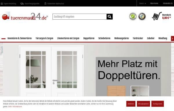 Vorschau von www.tuerenmarkt24.de, tuerenmarkt24 - Ortrander Türsysteme GmbH
