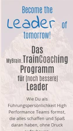 Vorschau der mobilen Webseite mybrain-location.de, MyBrain.Location GmbH