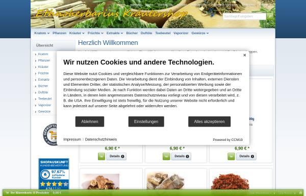 Vorschau von www.ethnoherbarius.de, Ethnoherbarius Kräuterladen