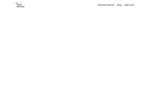 Vorschau von daviddueckers.de, Personal Training David Dückers