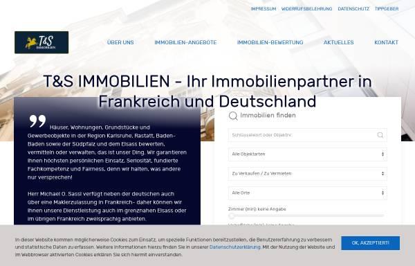 Vorschau von www.tus-immobilien.com, T&S IMMOBILIEN