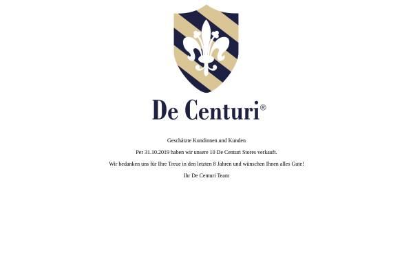 Vorschau von www.decenturi.ch, De Centuri