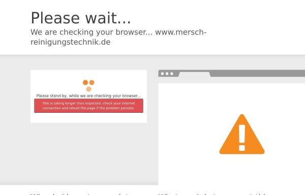 Vorschau von www.mersch-reinigungstechnik.de, Mersch GmbH & Co. KG