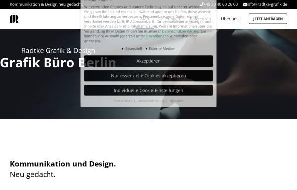 Vorschau von radtke-grafik.de, Radtke Grafik
