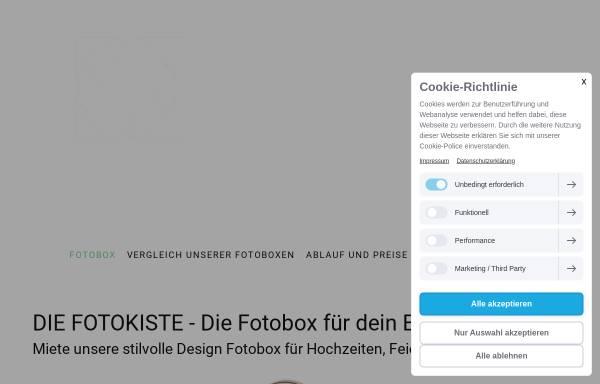 Vorschau von www.die-fotokiste.info, Die Fotokiste - Andreas Lott Fotografie