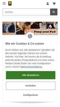 Vorschau der mobilen Webseite www.bartl-lammfellmanufaktur.de, BARTL GmbH