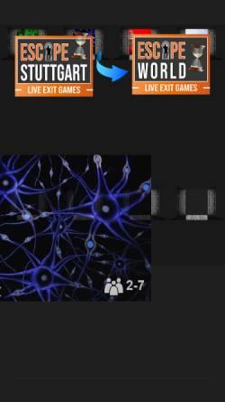 Vorschau der mobilen Webseite www.escape-stuttgart.de, Escape Stuttgart GmbH