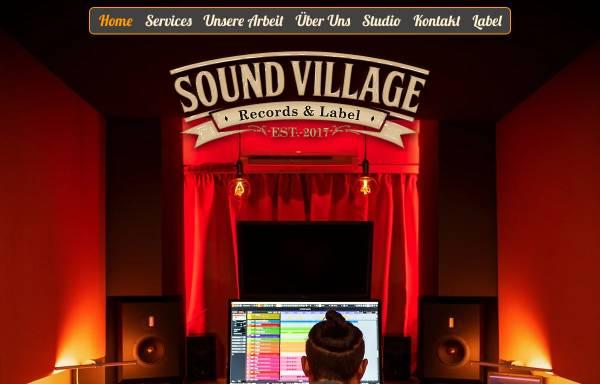 Vorschau von sv-records.com, Sound Village - Jan Boeren