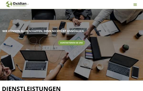 Vorschau von oxidian.ch, Oxidian GmbH