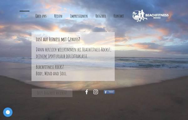 Vorschau von www.beachfitness.rocks, Beachfitness GbR