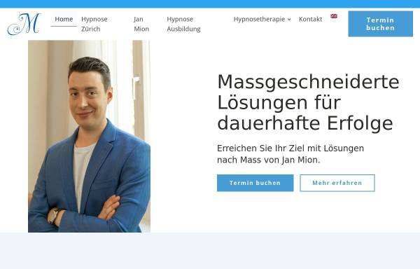 Vorschau von janzeyer.ch, Jan Zeyer Hypnose & Coaching