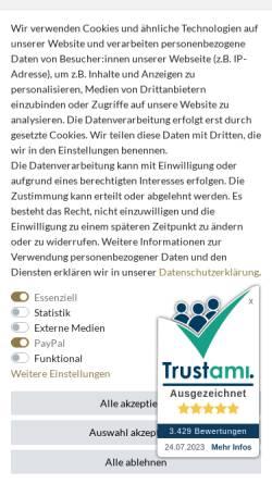 Vorschau der mobilen Webseite www.casa-padrino.de, Casa Padrino Demotex GmbH
