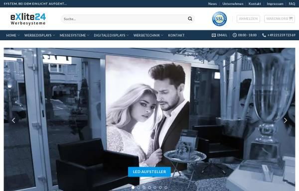 Vorschau: eXlite24 Werbesysteme