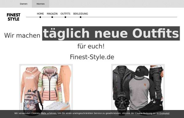 Vorschau von finest-style.de, Finest-Style